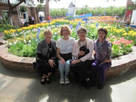 In the pictures are: Penny Hunt, Sue Giardina, Carol Shields and Tammy Singleton-English