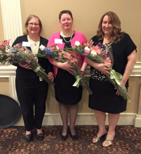 Joining Carole Stevens were Loyalty Award winner, Sue Scheeren and Cable Award Winner, Nancy Tolfa.
