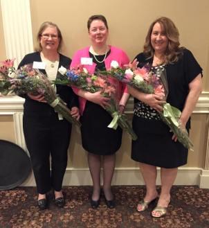 Joining Carole Stevens were Loyalty Award winner, Sue Scheeren and Cable Award Winner, Nancy Tolfa.