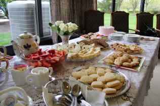 Some lovely treats to be enjoyed at the Golden Anchor Tea at Friendship Village.