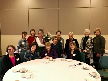 Our 50+ year members at the annual Golden Anchor Tea at Friendship Village.
