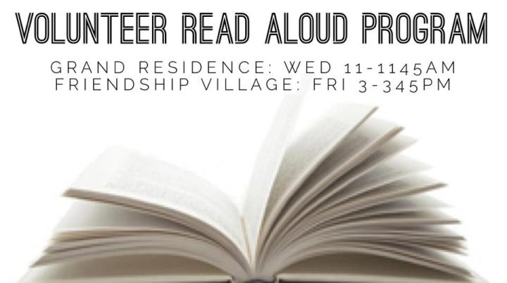 Volunteer Read Aloud Program with Upper St ClairLibrary